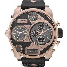 Mens Diesel Big Daddy Chronograph Watch DZ7261