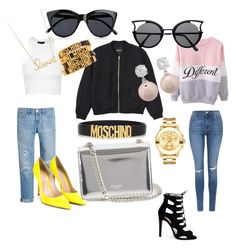 Dream by tamara-katharina on Polyvore featuring polyvore, fashion, style, Topshop, Monki, White House Black Market, Gianvito Rossi, Rochas, Movado, Jankuo, Moschino, Sydney Evan, Le Specs and clothing