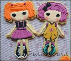 Galletas decoradas lalaloopsy