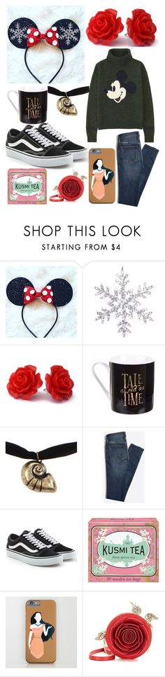 """Disney - Mousey Rose"" by emoinnuendo ❤ liked on Polyvore featuring Disney, Vans and Kusmi Tea"
