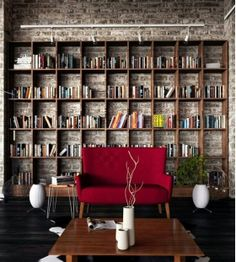 A home library is the dream