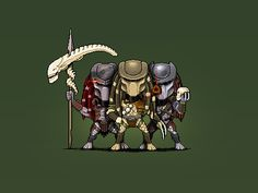 Predators by kajdax