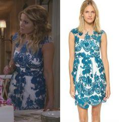 fuller house dj blue white lace dress episode 13 wedding candace