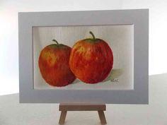 Aquarell – Äpfel - MarikArt
