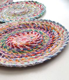 Fabric Scrap Buster Trivet Hot Pad Sewing Tutorial (or make a mat, like they do in the tutorial)