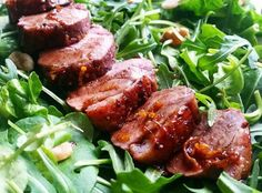 Breaking my fast with something other than bone broth. My husband is not working today so we did lunch. Well I made lunch! This is crispy skinned duck salad with an orange and balsamic glaze adapted a little from @ketodiet_app. If you dont already use the app I highly recommend it. This recipe was either free or I downloaded it with a load of other salad recipes for around 79p (with the exchange rate what it is at the moment this is probably 50c). Served on watercress spinach and rocket…