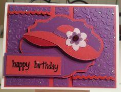Red Hat Society Birthday Card