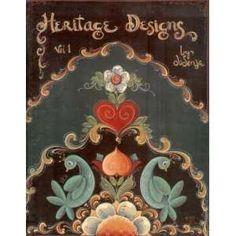 Jo Sonja Jansen | HERITAGE DESIGNS, Vol. 1 Jo Sonja Jansen Painting Pattern Book OOP
