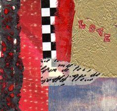 "Valentine Triptych 3, collage 3 X 3 I added ""joyfulartistblog"" to an #inlinkz linkup!http://joyfulartistblog.blogspot.com"