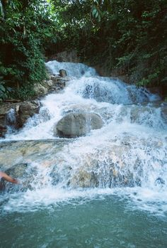 Dunns River Falls, Ocho Rios Jamaica This is a must do, fun Oh The Places You'll Go, Great Places, Places To Travel, Beautiful Places, Places To Visit, Cruise Vacation, Dream Vacations, Vacation Spots, Famous Waterfalls