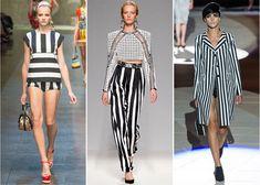 """Esta primavera-verano 2013 juega con el fenómeno """"black & white"""" y se la más estilosa de la fiesta."""