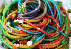 Slik setter du farge på pastaen på 1-2-3