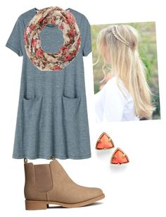 """""""Cuteness"""" by allthingsmormon ❤ liked on Polyvore featuring Toast, Charlotte Russe, Kendra Scott and H&M"""