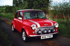 Mini Cooper S.  I want one someday