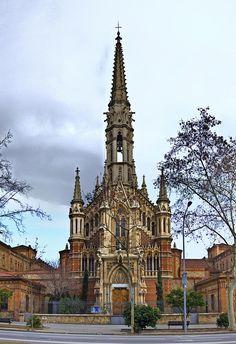 Església de les Saleses, Barcelona (Joan Martorell i Montells, 1833-1906, maestro de Gaudi)