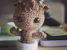 Amigurumi Patterns Groot : Pattern baby groot vol amigurumi crochet pattern baby