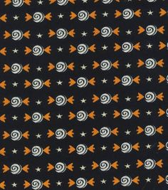 Holiday Inspirations Fabric- Halloween Candy Glitter