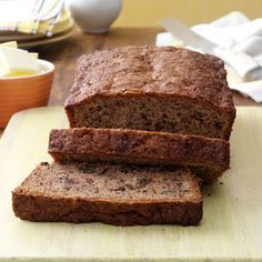 Best Ever Banana Bread Recipe doubled added 1/2 t cinn, 1/4 c butter softned, and vanilla bean delicious