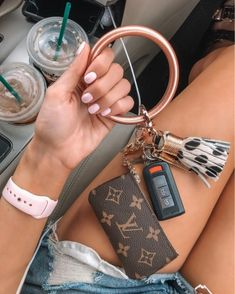 cute cars accessories Not sure how I went about life without having this little wrist keychain for my Ford Gt, Mochila Adidas, New Car Accessories, Jewelry Accessories, Fashion Accessories, Louis Vuitton Key Pouch, Vuitton Bag, Louis Vuitton Keychain Wallet, Coin Wallet