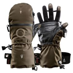 HEAT 3 Smart HEAT 3 Smart,To buy Extra warm mitten gloves with integrated Liner ✔ Goatskin palm: soft & robust ✔ Suitable for all touchscreens ➤ Buy HEAT 3 Smart online now! Backpacking Gear, Hiking Gear, Snowboarding Gear, Best Gloves, Moda Formal, The Heat, Silver Fabric, Winter Gear, Survival Gear