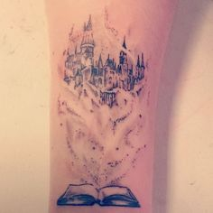 tattoo#1 right disney sleeve. better more real drawing of the other castle i saved.