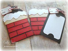 Christmas Gift Card Holder, Santa Card, Santa Chimney, Gift Card Holder…