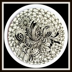 83 Best Zentangle 1 Images On Pinterest In 2018
