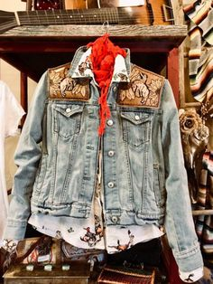 Buranan Clothing Women Winter Coats Fashion Plus size Western Denim Jacket Casual Boho Outerwear Cowgirl Style Outfits, Rodeo Outfits, Country Outfits, Cute Outfits, Denim Boho, Estilo Cowgirl, Looks Country, Mode Plus, Winter Coats Women