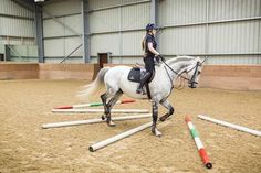 Limited core strength in your horse can make him reluctant to bend his body, but exercises that use his rib cage and open the muscles in his sides. Have a go at this exercise, as suggested by dressage rider Samantha Brown.