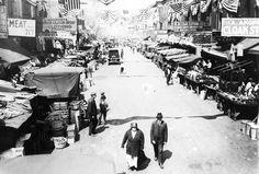 Maxwell Street, 1924, Chicago.