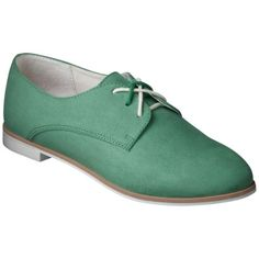 Women's Mossimo Supply Co. Olenka Oxfords - Mint  Just ordered these!