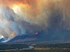 Wildfires by the Airforce Academy - (wow)