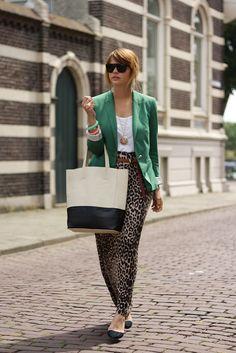 maxi skirt w/blazer