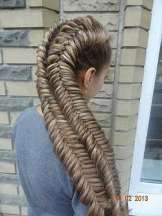 Big Fish Braid This Is Crazy Long!!!