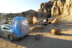 Prius camping!!!