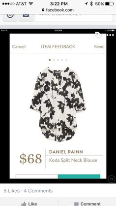 Daniel Rainn koda blouse - yes to everything about this top!