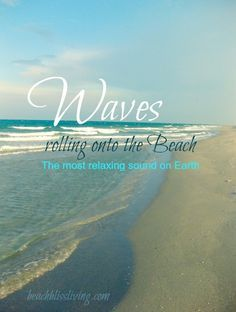 Waves rolling on the beach. The most relaxing sound on earth. Sunset Beach, Ocean Beach, Ocean Pics, Beach Pink, Beach Bum, Beach Vibes, Summer Vibes, Frases Relax, Photography Beach