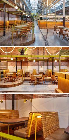 Дизайн интерьера современного бар-ресторана
