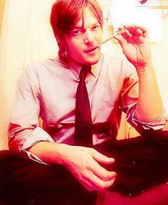never wanted to be a pencil...til now. He's so perfect in this picture.