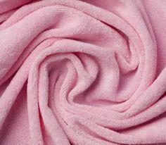 Primera Strech-Frottee rosa - super zum Selbernähen von Stoffwindeln und Windeleinlagen !!