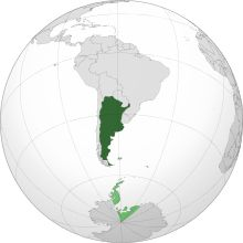 alt=Description de l'image Argentina orthographic.svg.