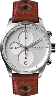 Raidillon Watch Design Chronograph Limited Edition #add-content #bezel-fixed #bracelet-strap-leather #brand-raidillon #case-material-steel #case-width-42mm #chronograph-yes #delivery-timescale-call-us #dial-colour-silver #gender-mens #limited-edition-yes #luxury #movement-automatic #new-product-yes #official-stockist-for-raidillon-watches #packaging-raidillon-watch-packaging #style-dress #subcat-design #supplier-model-no-42-c10-107 #warranty-raidillon-official-5-year-guarantee…