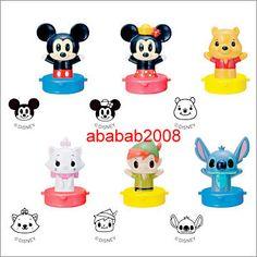 Minnie Mouse Disney Tsum Tsum Light Up Takara Tomy Gashapon Key Chain