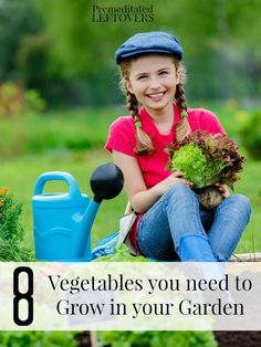 8 Vegetables You Need to Grow in Your Garden - Here is a list of vegetables that every beginning (and experienced) gardener should try in their garden. Growing Veggies, Growing Herbs, Home Vegetable Garden Design, Vegetable Gardening, Gardening Tips, Herb Garden, Lawn And Garden, Garden Tools, Low Maintenance Garden Design