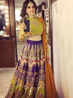 Buy Online Punjabi Wedding Lehenga Designer Collection Call/ WhatsApp us 77164 Pakistani Mehndi Dress, Pakistani Formal Dresses, Shadi Dresses, Pakistani Wedding Outfits, Pakistani Dress Design, Nikkah Dress, Lehnga Dress, Eid Dresses, Punjabi Wedding