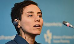 Maryam Mirzakhani, a Stanford University professor who was the first and only woman to win the prestigious Fields Medal in mathematics, has died. She was who battled breast cancer, died on Saturday, the university announced. It did not indic University Professor, Stanford University, Seoul, Math Genius, Iranian Women, Female Profile, Science, Nobel Prize, Badass Women
