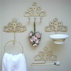 Cream French Style Bathroom Set :: Bliss And Bloom Ltd
