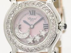 Polished #CHOPARD Happy Sport Custom Diamond MOP Dial Watch 27/8245-23 (BF086314). Authenticity guaranteed, free shipping worldwide & 14 days return policy. Shop more #preloved brand items at #eLADY: http://global.elady.com
