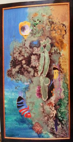 Aja original, bali reef 2004: acrylic sold Bali, Fine Art, The Originals, Painting, Painting Art, Paintings, Painted Canvas, Drawings, Visual Arts