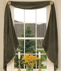 Swags, Window Swags, Curtains Swags, Swags and valances - Country Curtains®